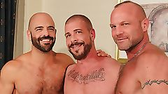 threesome gay male videos